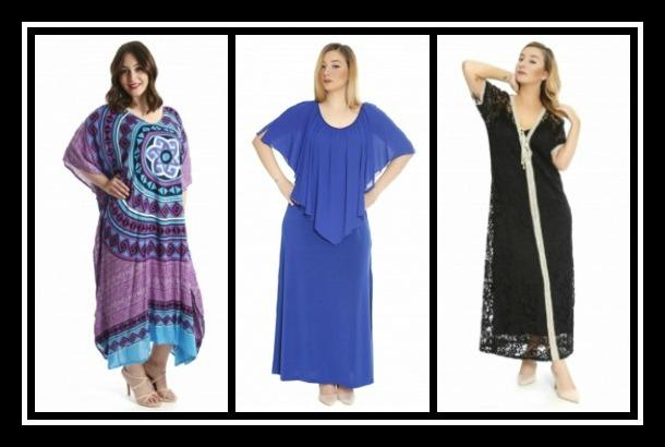 Γυναικεία καφτάνια & φορέματα σε μεγάλα μεγέθη happy sizes!