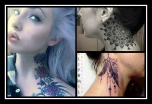 29 Εντυπωσιακά γυναίκεια tattoo για λαιμό και σβέρκο!