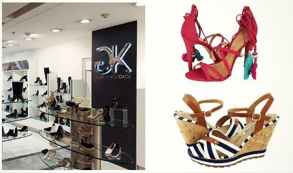 Μοναδικά καλοκαιρινά γυναικεία παπούτσια Gianna Kazakou!