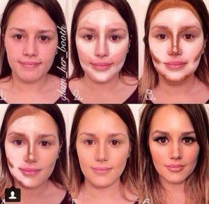 makeup tips contouring