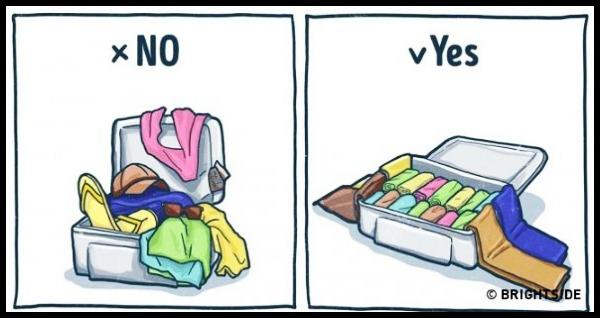 10 Tips για να πακετάρεις σωστά τις βαλίτσες σου!