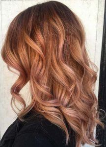 Rose Gold Hair ediva.gr