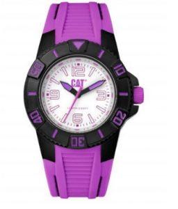 CATERPILLAR Bondi Lady Purple Rubber Strap