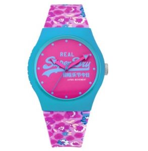 SUPERDRY Urban Multicolor Rubber Strap