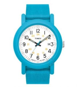 TIMEX Originals Camper Blue Fabric Strap