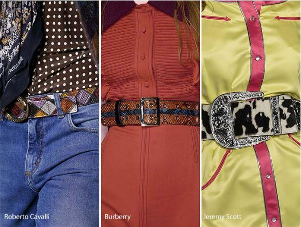 animal skin belts