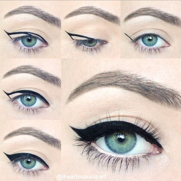 arrows for eyeliner