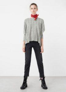 cotton blouse MANGO
