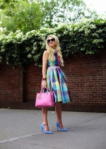 dress with prints