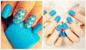 40+1 Απίστευτα μπλε σχέδια νυχιών!