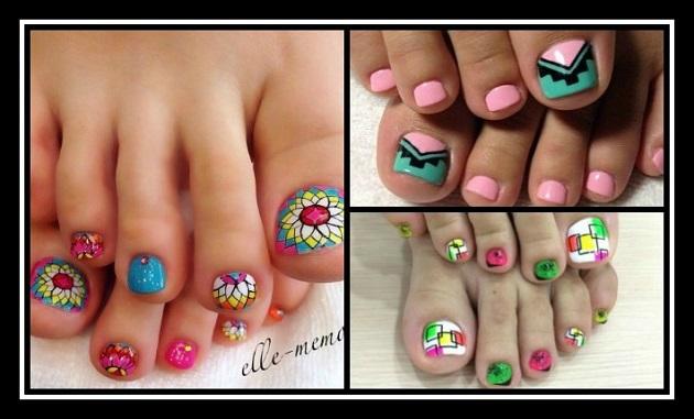25+3 Εκπληκτικά σχέδια για τα νύχια των ποδιών σου!