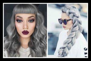 25 Hairstyles για ασημί και γκρι χρώμα μαλλιών!