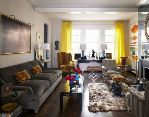 bright-yellow-curtains