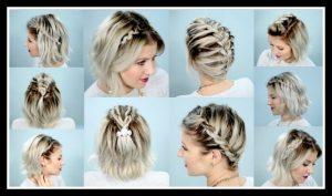 10 Εύκολες πλεξούδες για κοντά μαλλιά βήμα προς βήμα!