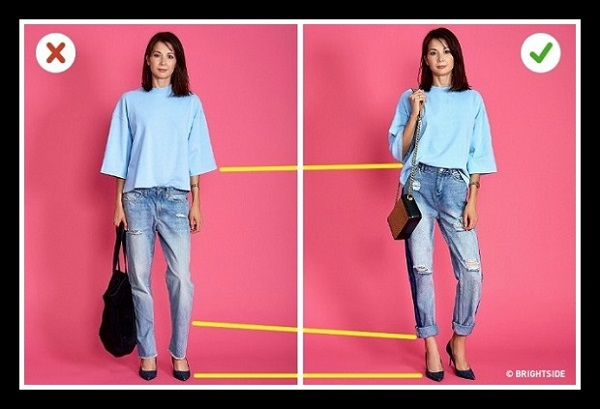 6 Tricks ντυσίματος που θα σε κάνουν να φαίνεσαι πιο ψηλή!