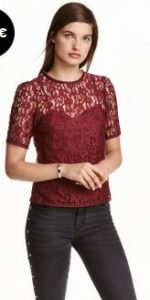 lace-top