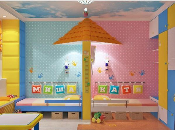 ed1f26f4598 Παιδικό δωμάτιο για δύο: 7 ιδέες που θα λατρέψεις! | ediva.gr