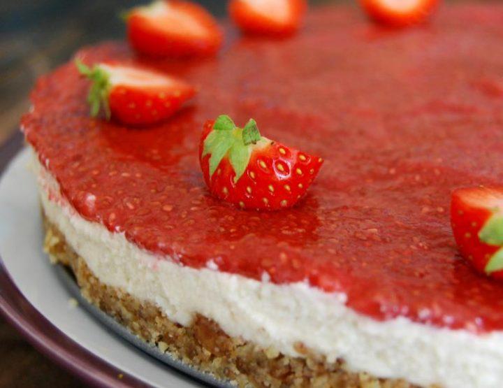 Πανεύκολο Cheesecake (τσιζκέικ) χωρίς ψήσιμο!