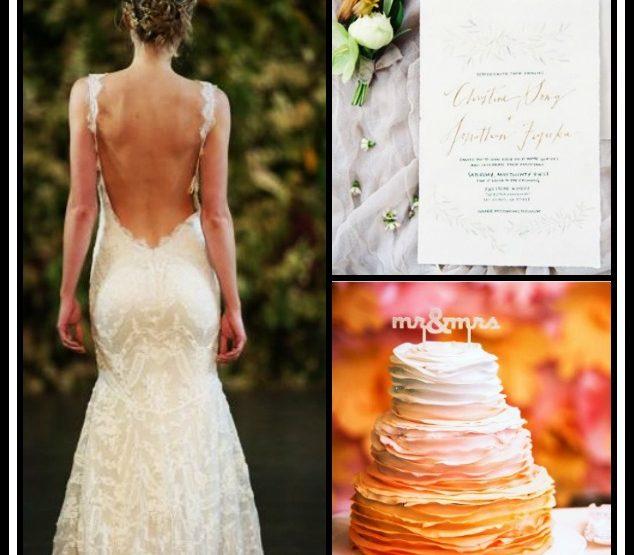 14 Τάσεις που θα είναι στη μόδα για τους γάμους το 2017!