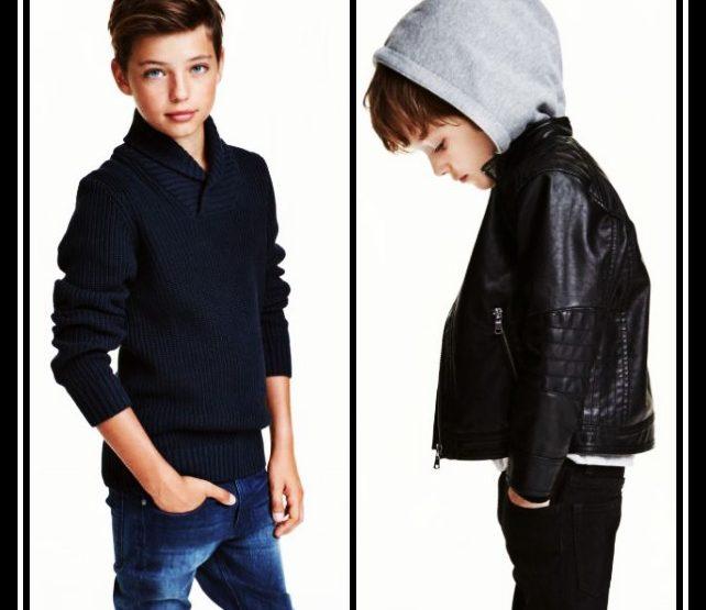 Παιδικά ρούχα για αγόρια 2-14 χρονών από την H&M!