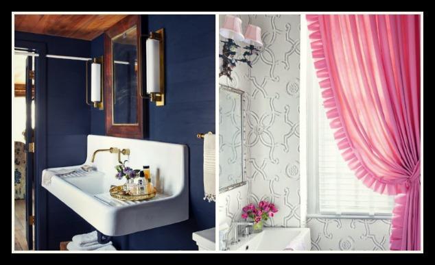 12+1 Ιδέες για να προσθέσεις χρώμα στο μπάνιο σου!