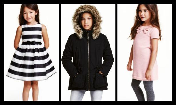 Παιδικά ρούχα H&M μόνο για κορίτσια 2-14+