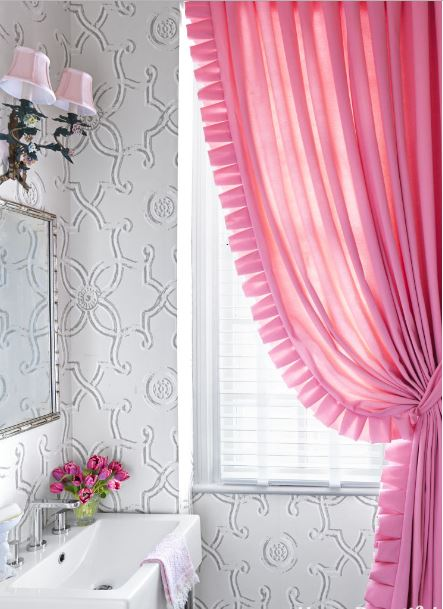 pink-curtain