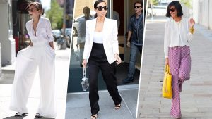 10 Τρόποι για να φορέσεις ένα φαρδύ παντελόνι!