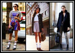 Μοναδικές ιδέες για να φορέσεις τις κάλτσες με τακούνια!