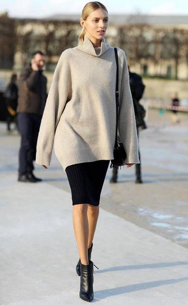 20 Προτάσεις να φορέσεις την pencil φούστα σου!  f0d8dc0de83