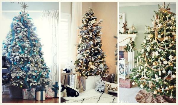 34 Ιδέες για να στολίσεις το Χριστουγεννιάτικο Δέντρο!