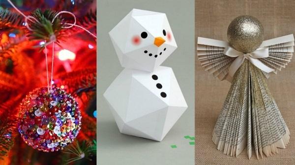 DIY χριστουγεννιάτικα διακοσμητικά: 15 ιδέες που θα σε ξετρελάνουν!