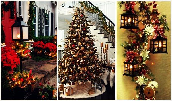 10 Ιδέες για να στολίσετε χριστουγεννιάτικα το σπίτι με γιρλάντες!
