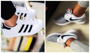 19 Προσφορές για γυναικεία sneakers (Nikes, NB, Adidas)