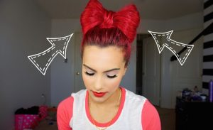 red-bow-hair