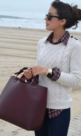 f075f709888c Μία από τις αγαπημένες επιλογές που μπορούν να μας χαρίσουν απλόχερα στυλ  τις κρύες μέρες του χειμώνα είναι τα πουκάμισα συνδυασμένα με πουλόβερ.