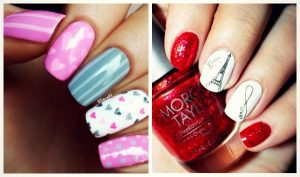 12 DIY ιδέες για νύχια του Αγίου Βαλεντίνου