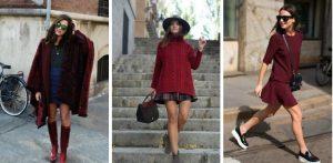 23 Στυλάτες ιδέες για να βάλεις το βουργουνδί χρώμα στο ντύσιμο σου!