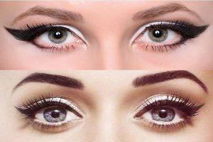winged eyeliner makeup