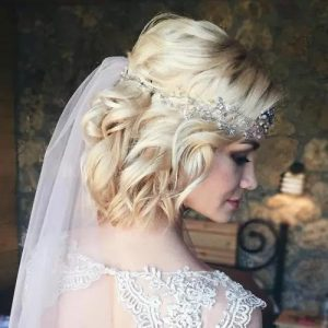 Retro Glam Wedding hairstyles