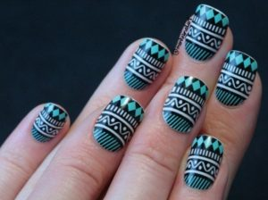 Tibal Nail Art