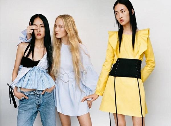 Κατάλογος γυναικείων ρούχων Zara Άνοιξη - Καλοκαίρι 2017!