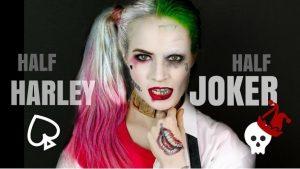 Πως να κάνεις αποκριάτικο μακιγιάζ Joker και Harley Quinn!