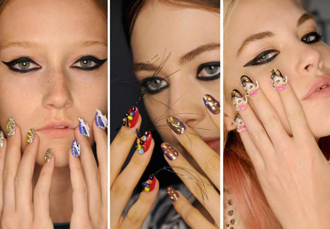 ekkentriko nail art