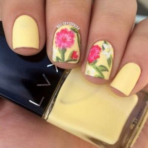 floral manicure konta nuxia