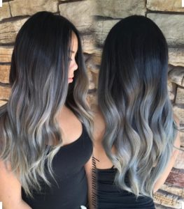 grey hairstyle ss2017