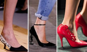 Η μόδα στα παπούτσια Άνοιξη-Καλοκαίρι 2017!