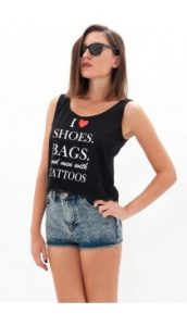 mavro crop top i love shoes