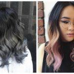 ombre black hair 2017