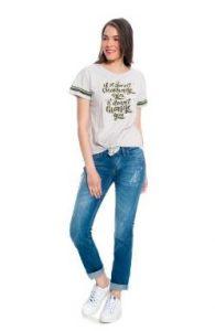 T-shirt xrysh stampa